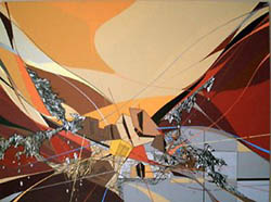 Abstract art as the method of life for Artiste peintre catalan